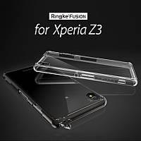 Чехол Ringke Fusion для Sony Xperia Z3 (Smoke Black)