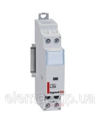 Контактор модульный 25 А с катушкой на 230 В 2НО Legrand