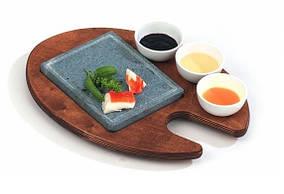 Hot Stone Grill Bisetti 99050 мыльный камень гриль для дома, кафе, бара, ресторана