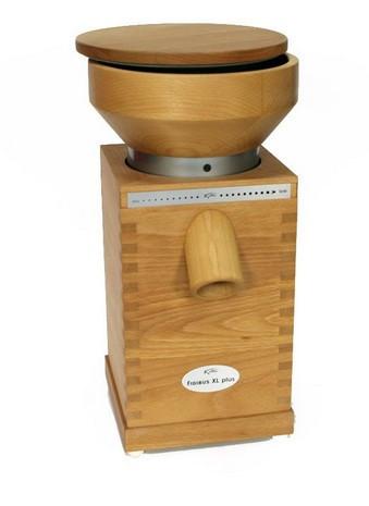 Fidibus XL PLUS, Komo электрическая жерновая мини мельница для муки из зерна пшеницы кукурузы