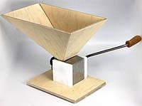 Eschenfelder light ручная - электрическая вальцовая мельница для пивоварения из солода измельчитель