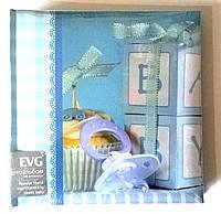 Детский фотоальбом  EVG 10x15x200 Baby  для мальчиков синий