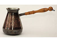 Турка 500мл TUR7, купить турку для кофе в украине, турки для кофе набор, турки, турка купить, трку медную200мл