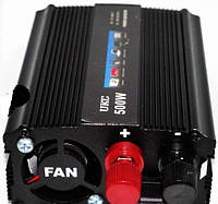 Преобразователь авто инвертор 12V-220V,  500W USB