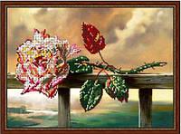 """Схема для вишивки бісером """"Забута троянда"""""""