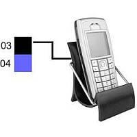 Настольная подставка под мобильный телефон пластик