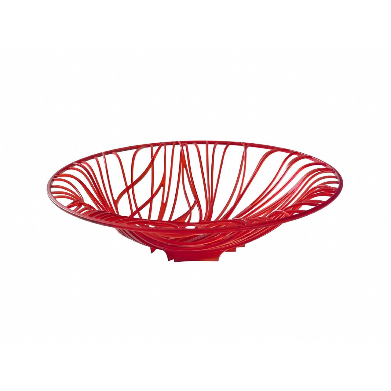Чаша для фруктов Casa Bugatti 21-FLORA3F/VE ,цвет красный