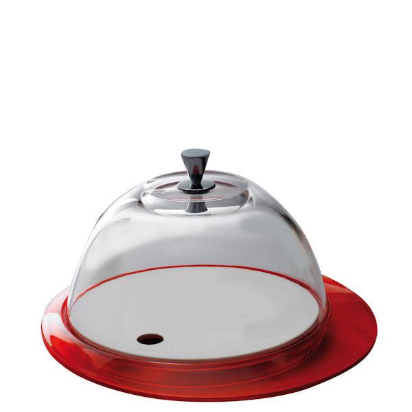 Сервировочная подставка с крышкой Casa Bugatti GL3U-02152,цвет красный