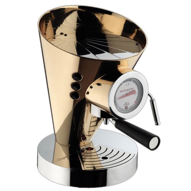 Кофемашина Casa Bugatti 15-DIVADR , 24K в золоте
