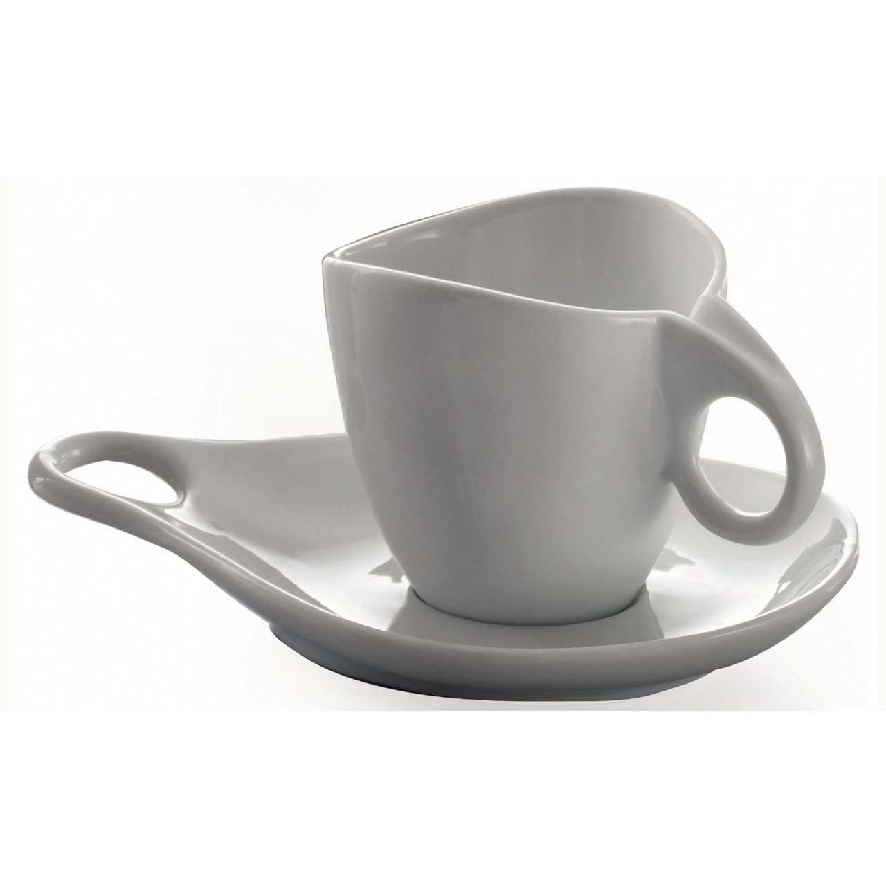 Чайно-кофейный набор Casa Bugatti 53-1002PO из 6 чашек и блюдец