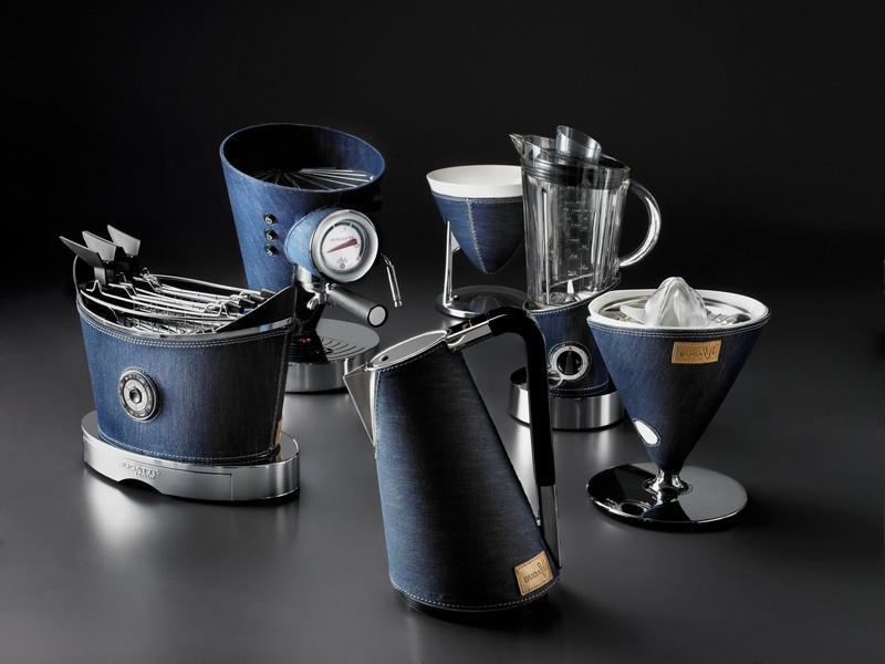 Набор отделка джинс Casa Bugatti Individua Denim 6 предметов, цвет синий