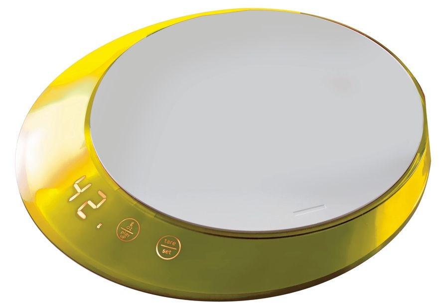 Кухонные весы с таймером Casa Bugatti GL6U-02180, цвет желтый
