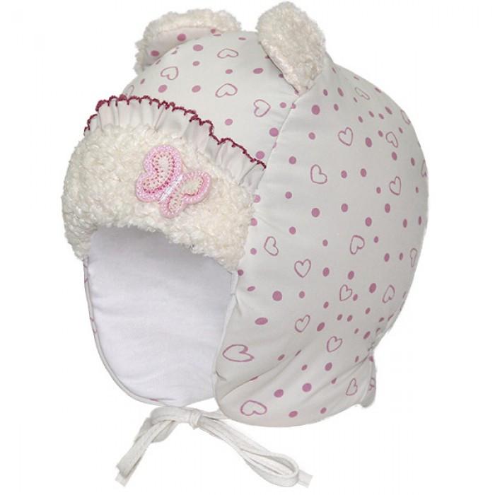 Детские зимние шапки для девочки David Star р-ры 46.
