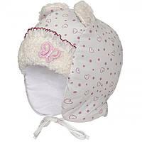Новогодние скидки, Детские зимние шапки для девочки David Star р-ры 44.46.