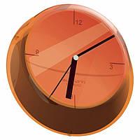 Часы кухонные Casa Bugatti GLOU-02190, цвет оранжевый