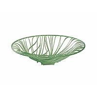 Ваза для конфет и фруктов Casa Bugatti 21-FLORAMF/VE ,цвет зеленое яблоко