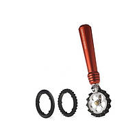 Marcato Pastawheel Rosso фигурный нож для теста, лапши, красный