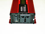 Преобразователь тока AC/DC UKC 1000W KC-1000D с LCD дисплеем, фото 4
