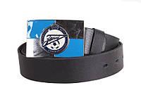Кожаный ремень для мужчин с бляхой FC Zenit