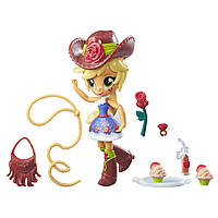 Мини-кукла Эпл Джек Equestria Girls с аксессуарами (My Little Pony)
