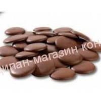 Шоколадная Глазурь  темно-коричневая в дисках 500 грамм