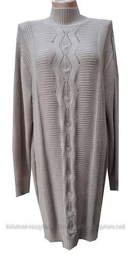 Платье-свитер женское батл