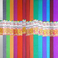 Бумага КРЕПИРОВАНАЯ- 50*200см., цвета в ассортименте, фото 1