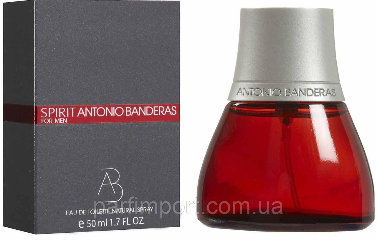 Antonio Banderas SPIRIT MAN EDT 50 ml туалетна вода чоловіча (оригінал оригінал Іспанія)