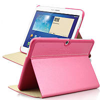 Чехол книжка Book leather case for Samsung P5200 Galaxy Tab 3 10.1, rose