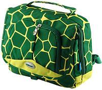 Детский красивый рюкзак Traum 7004-01, зеленый 3 л