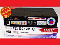 Усилитель звука UKC KA-123 BT 2*150 + КАРАОКЕ, фото 1