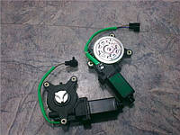 Мотор привода стеклоподъёмника Ланос под крест левый Китай