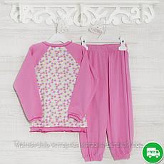 Детские пижамы для девочек 104см, 1113GERDA -хлопок-рибана, в наличии 92,104,116 Рост, фото 3