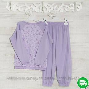 Детские пижамы для девочек 104см, 1113GERDA -хлопок-рибана, в наличии 92,104,116 Рост, фото 2