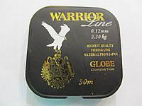 Рыболовная леска  0,12мм Globe Warrior  30м