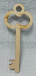 Шильда (накладка) Ключик-3, 10см