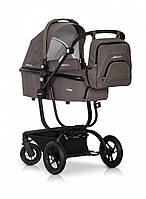 Детская коляска EASY GO SOUL mocca 2 в 1