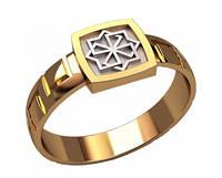 Небольшой золотой мужской перстень 585* пробы