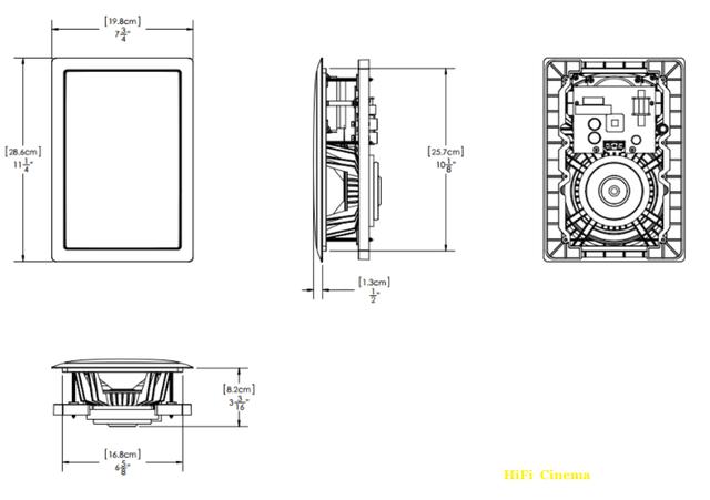 Paradigm AMS-250 встраиваемая акустическая система