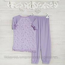 .Пижамы на девочку 1-3-5лет, 1115GERDA трикотаж-хлопок-рибана, в наличии 92,104,116  Рост, фото 3