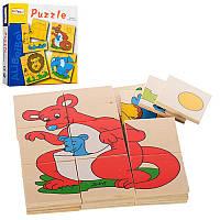 Деревянная игрушка Пазлы E12531