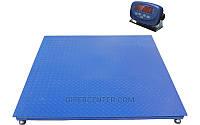 Платформенные весы TRIONYX П1212-СН-1500 Keli xk3118t1 (1200х1200 мм, НПВ=1500 кг, d=500 г)