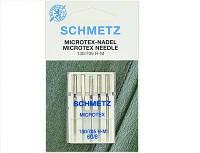 """Иглы Schmetz """"Microtex"""" № 60 с особенно острым тонким острием"""