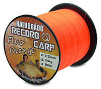 Леска HALDORÁDÓ RECORD CARP FLUO ORANGE 0,30 MM / 800 M