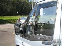 Дефлекторы окон (ветровики) вставные HEKO на Форд Транзит с 07-13 (Польша) 2-штуки.