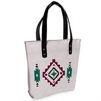 Женская сумка Bigbag с принтом этно