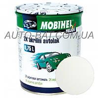 Автоэмаль двухкомпонентная автокраска акриловая (2К) Ford B3 Diamond White Mobihel, 0,75 л