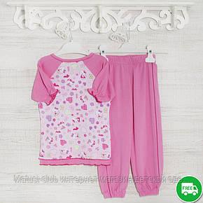 Пижамы детские, на девочку 104см, 1115GERDA хлопок-климакотон, в наличии 92,104,116  Рост, фото 2