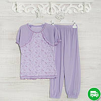Пижамы детские, на девочку 116см, 1115GERDA хлопок-климакотон, в наличии 92,104,116  Рост