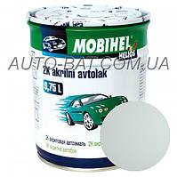 Автоэмаль двухкомпонентная автокраска акриловая (2К) ГАЗ Белая (GAZ) Mobihel, 0,75 л